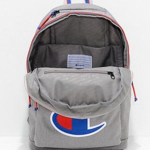 Champion men backpack laptop padded pocket #BagA